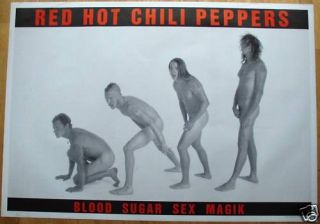 Red Hot Chili Pepper Poster Riesenformat 96 x 136 cm