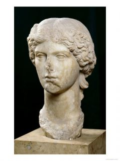 Bust of Agrippina the Elder Giclee Print by Roman