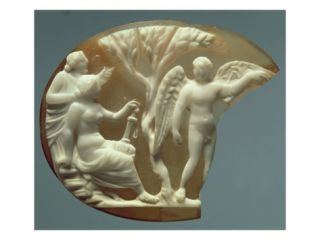 Cameo Depicting Icarus and Daedalus, 27 BC AD 14 Giclee Print
