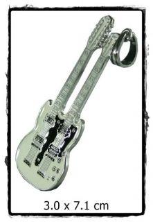 SA148 GIBSON Gitarre DOUBLE NECK GUITAR Anhänger Kette