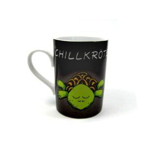 Design@Home Kaffeetasse Tasse Mug Text Chillkröte Küche