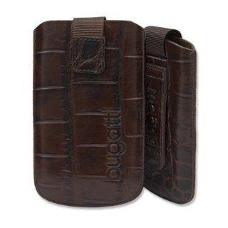 Original Bugatti Leder Slim Case Tasche für Apple