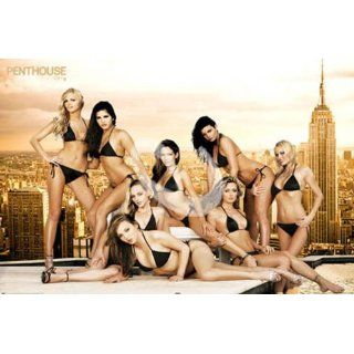 Empire 343086 Penthouse Roof Girls Sexy Erotik Plakat Poster   91.5 x