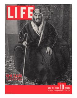 Saudi King Ibn Saud, May 31, 1943 Premium Photographic Print by Bob Landry
