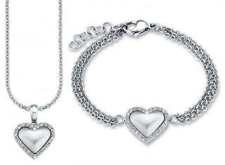 Valentin Special 2013 Halskette Armband Set Herz SOAKT 146 438063 NEU
