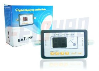 Satlink WS6903 TV Signal Finder Digital LCD Displaying F Satellite