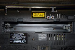Ghettoblaster Boombox JVC PC X500. Sehr selten