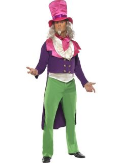 Mad Hatter Der verrückte Hutmacher Karneval Kostüm Fasching Smiffys