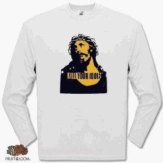 KILL YOUR IDOLS jesus axel rose Longsleeve T Shirt S XXL