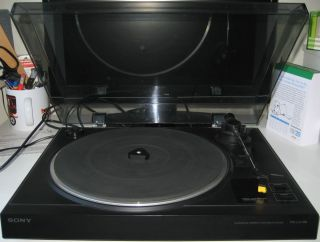 SONY Plattenspieler PS LX 100 turntable mit TA System ND 155 G