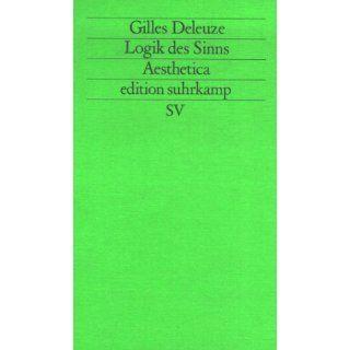 Logik des Sinns (edition suhrkamp) Karl Heinz Bohrer