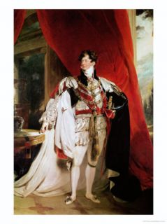 The Prince Regent, Later George IV in His Garter Robes, 1816 Giclee Print by Thomas Lawrence