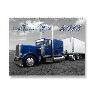 nsg 2013 Big Rig Calender #2 Wall Calendar