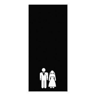 WEDDING01 MARRIAGE WEDDING MAN WOMAN LOVE RACK CARD