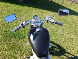 Honda Shadow VT 600 US Version Mattschwarz mit vielen Xtras