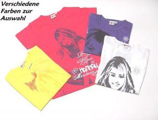 1324 Hannah Montana T Shirt Gr.158/164, versch. Farben