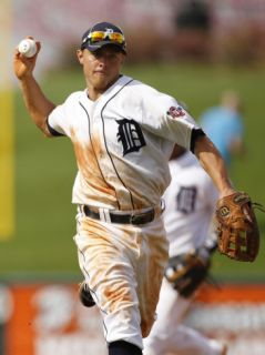 Toronto Blue Jays v Detroit Tigers, LAKELAND, FL   MARCH 01 Brandon Inge Photographic Print by Leon Halip