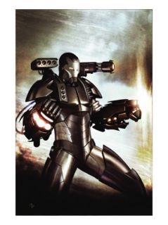 Iron Man Director Of S.H.I.E.L.D. #33 Cover War Machine Prints by Adi Granov