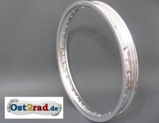 Felge Aluminium 2,15 x 16 für MZ 250 Alu ETS TS ETZ 251 ES