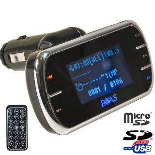 FM Transmitter MP3 Player KFZ Auto Car Radio MicroSD SD: