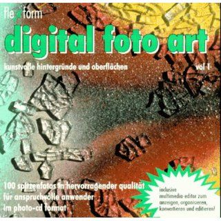 Digital Foto  Art 1. CD  ROM für Windows 3.1/95 Bücher