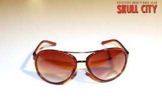 VIBES BROWN PILOT SHADES   Sonnenbrille   braun   Indie Electro Nerd