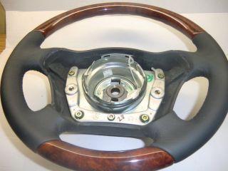 Holzlenkrad Lederlenkrad Airbag Holz Leder Lenkrad Mercedes Benz ML