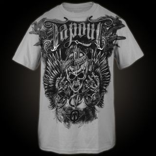 Tapout T Shirt Struck Heathered 152 GR L