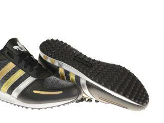 Adidas L.A. Trainer Sleek W Damenschuh Sneaker schwarz/silber/gold 37