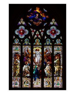 Stained Glass Photographic Print by Anna Miller