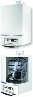 Buderus GB162 Gas Brennwert Heiztherme Kessel + Solaranlage 10qm