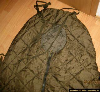 Original Bundeswehr Schlafsack Mumienschlafsack,2 Meter,Neu,unbenutzt