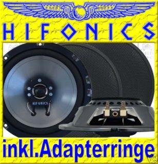 Hifonics   WR 165mm Koax Lautsprecher VW Fox Tür h v