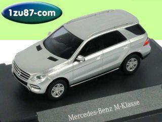 87 Mercedes M Klasse 2012 W166 iridium silber silver