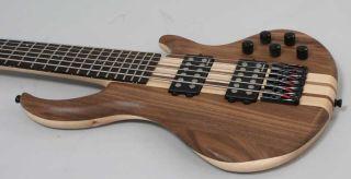 String Thru Neck Bass   Active   Walnut   Fanndec