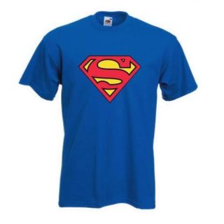 Superman Kinder T Shirt Kult 80er Größe 104   164