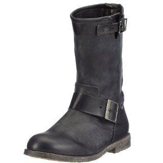 Buffalo London 13980 WASHED LEATHER 106343 Damen Biker Boots