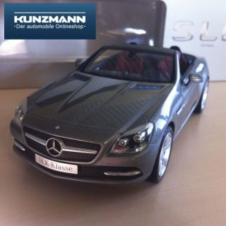 Mercedes Benz SLK Roadster R172 Modellatuo 118 silber