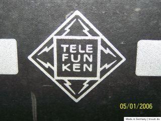 Telefunken Opus 2550 UKW Stereo Röhrenradio, Tube Radio, 4x EL 95 for