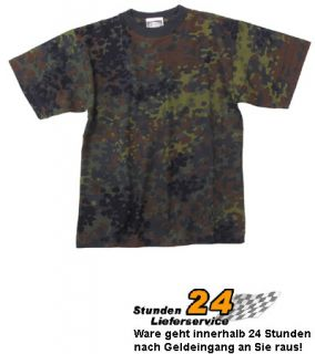 Kinder BW US Army T Shirt flecktarn S XXL (122 176) TOP