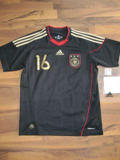 Adidas DFB Deutschland Auswaerts Trikot WM 2010 Gr 176 Lahm Away