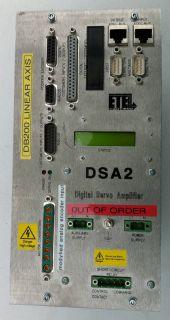 ETEL DSA2 DSA 2 Digital Servo Amplifier Digitaler Servoverstärker