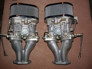 Doppelvergaser Anlage NEU VW Kaefer Buggy Karmann Kuebel 181 T1 T2 b