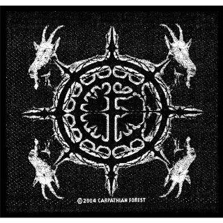 Carpathian Forest   Aufnäher Goat Heads (in OneSize)