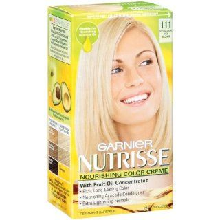 Garnier Nutrisse Nourishing Color Creme 111 Extra Light Ash Blonde