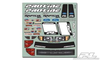Flo Tek Ford F 150 Raptor SVT Clear Body Karosserie Proline 3366