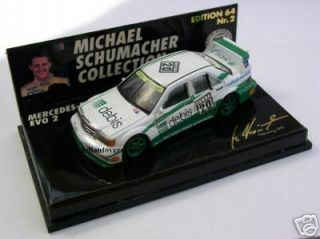 MERCEDES BENZ 190E EVO2 MICHAEL SCHUMACHER DTM NORISRING 1991 No 2 MSC