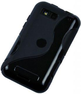 Silikon Rubber Case für Motorola Defy MB525 Cover Tasche Schutz