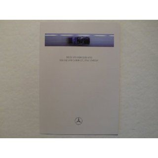 Prospekt / brochure   Mercedes Benz 124   Das E   Klasse Cabriolet