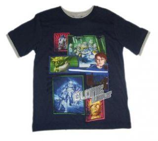 WARS CLONE WARS   Kinder T Shirt Gr. 116 122 Bekleidung